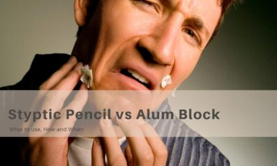 Styptic Pencil vs Alum Block